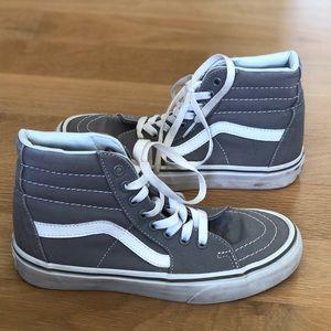 Sz 4.5 grey vans